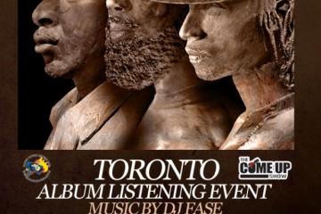 Monumental Toronto Listening Event