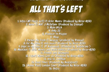 Richie Blackz- All That's Left Back Cover