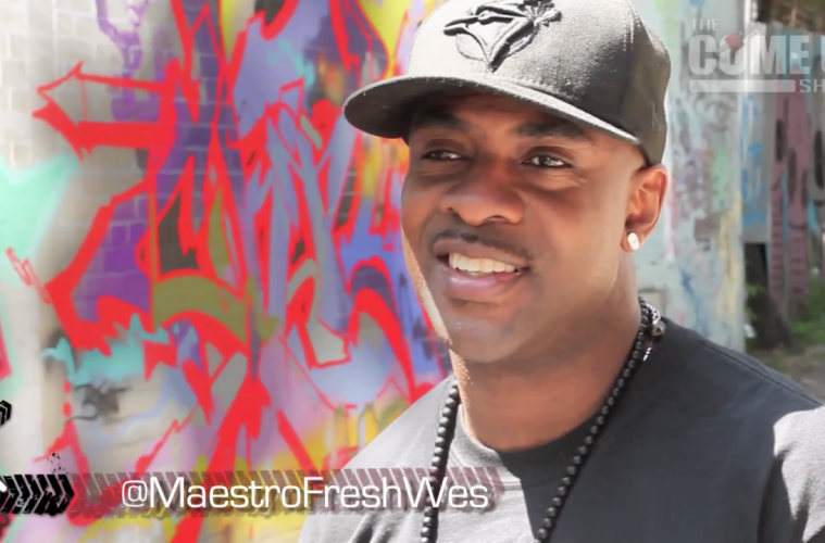 Maestro Fresh Wes on The Come Up Show