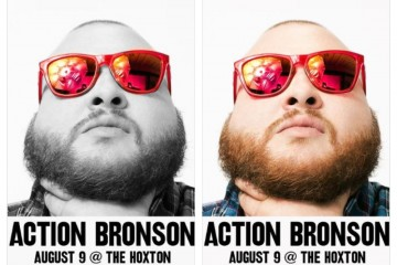actionbronsonthecomeupshowaugust9ththehoxton