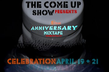 the come up show mixtape cover