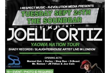 JOELL ORTIZ - YAOWA NATION TOUR 2013