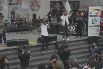 Yahoo x Manifesto Live Stream (Blake Carrington and Keegan Da'niro)