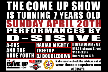 The Come Up Show 7 Year Anniversary