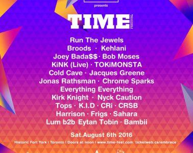Time Festival Poster