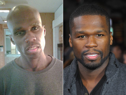 [Photo] 50 Cent before...