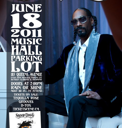 Event Snoop Dogg The London Music Hall Lot The Come Up Show