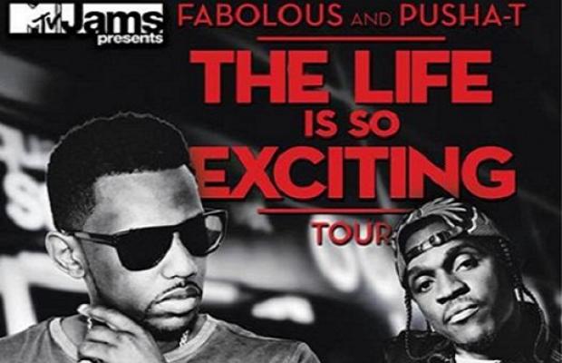 Fabolous Pusha T Life is so exciting tour
