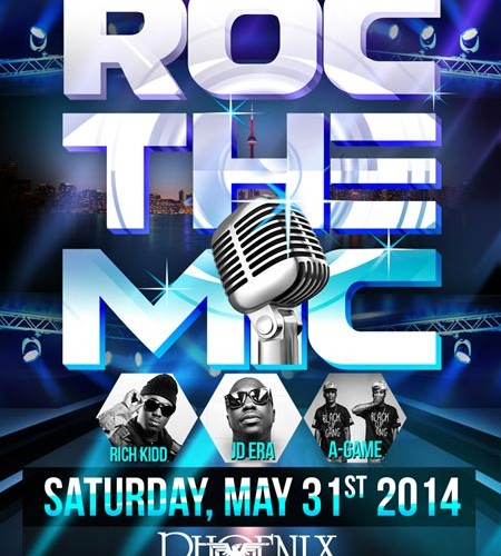 Event] Roman Arts & Entertainment Presents: Roc The Mic May 31st