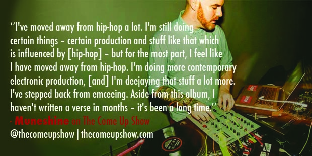Muneshine joins The Come Up Show for an interview
