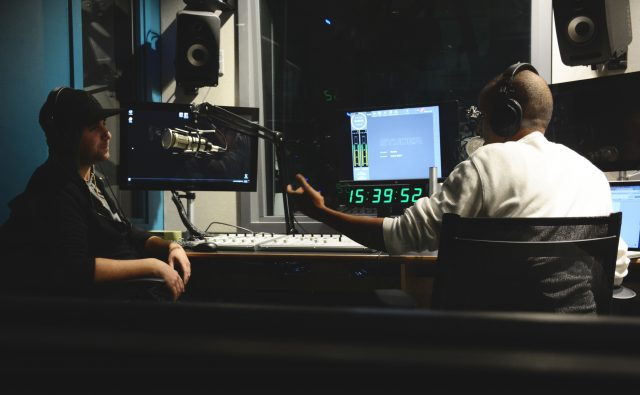 Chris Martin and Chedo in Studio